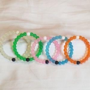 Lokai Set Multi Color Bracelets